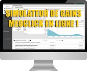 Meoclick - Le seul simulateur de gains disponible en ligne