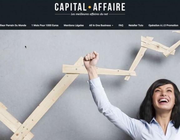 Capital Affaire témoignage semaine 5